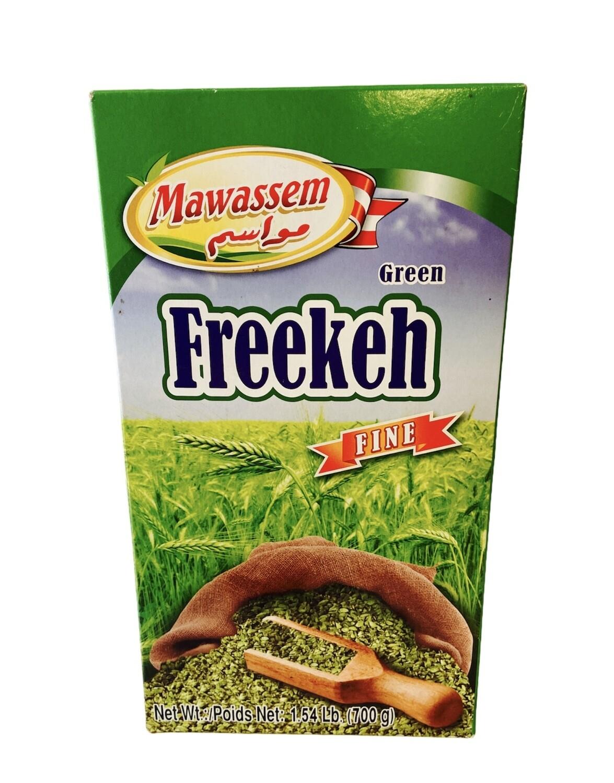 Mawassem Green Freekeh Fine 12 x 800g