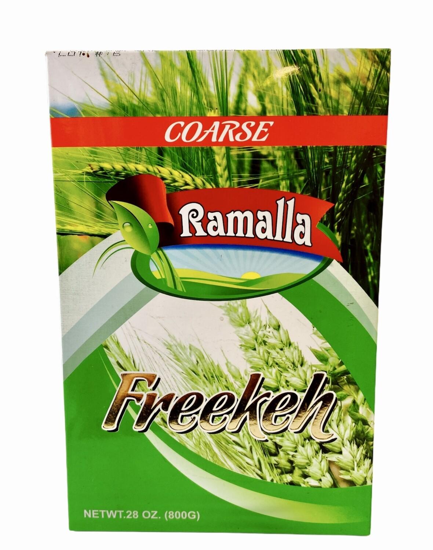 Ramalla Green Freekeh Corse 12 x 800g