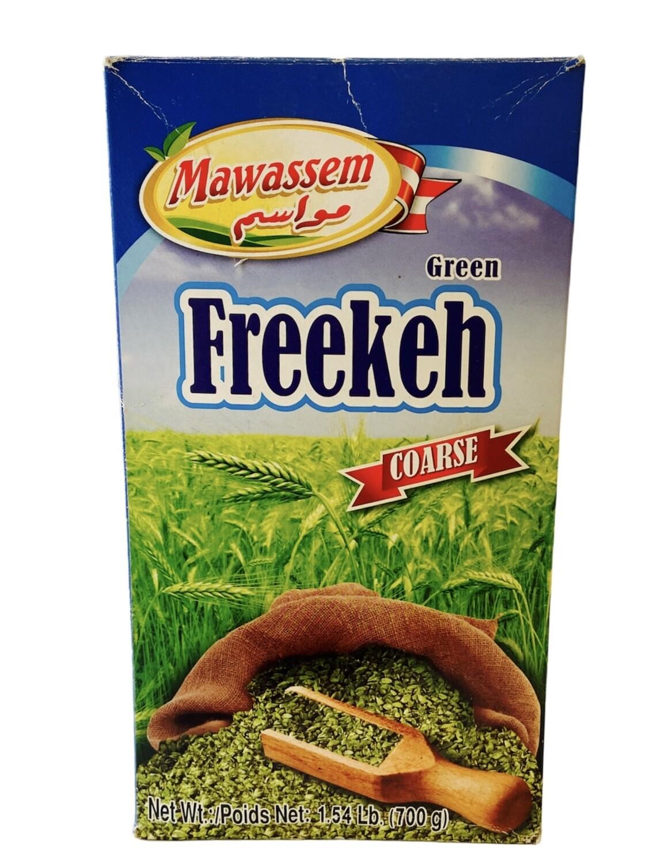 Mawassem Green Freekeh Course 12 x 800g
