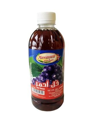 Mawassem Red Wine Vinegar 24x500ml