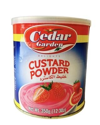 Cedar Garden Strawberry Custard 12x350g