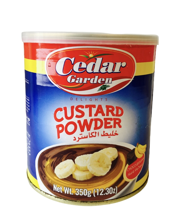 Cedar Garden Chocolate Banana Custard  12x400g