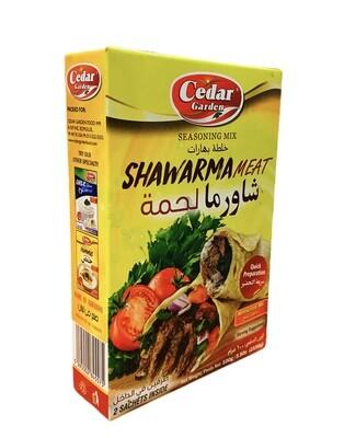 Cedar Garden Meat Shawarma Marinate Mix 12x100g