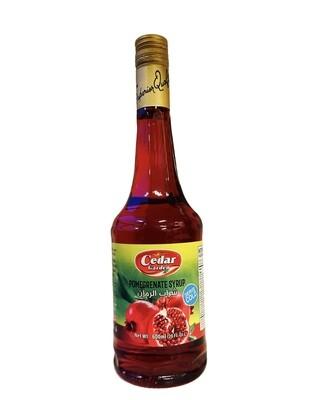 Cedar Garden Pomegranate Syrup 12x600ml