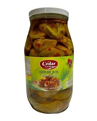 Cedar Garden Mackdous Eggplant In Oil 4x3kg