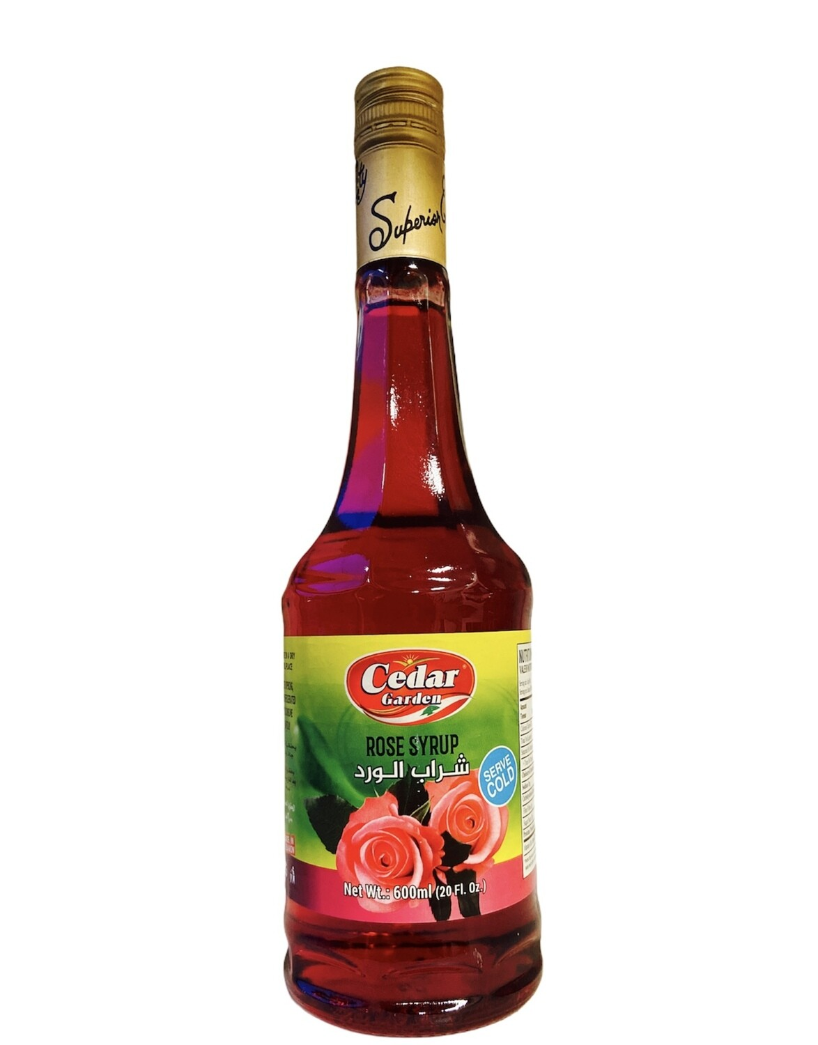 Cedar Garden Rose Syrup 12x600ml