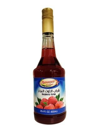 Mawassem Raspberry Syrup 12x600ml