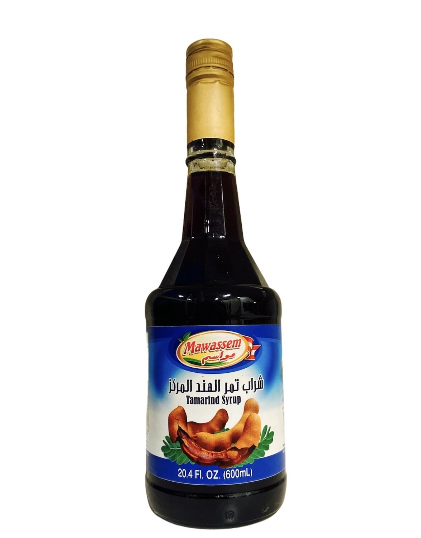Mawassem Tamarind Syrup 12x600ml