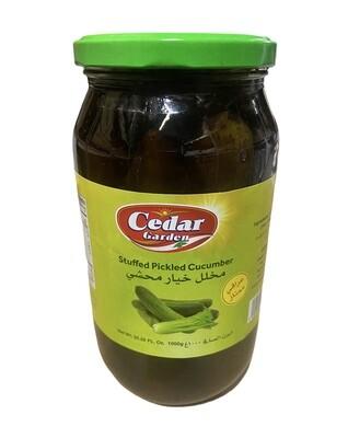 Cedar Garden Stuffed Pickled Cucumber 12x1k