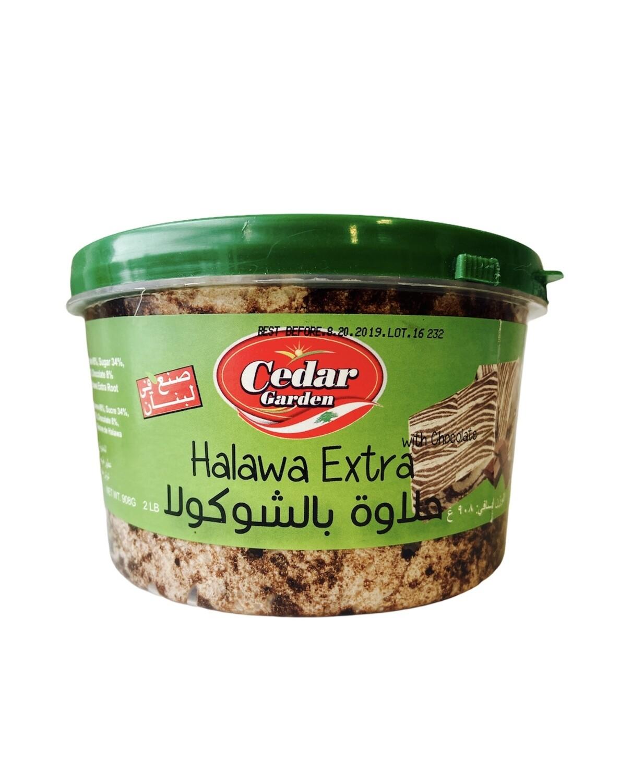 Cedar Garden Chocolate Halawa 12x2lb