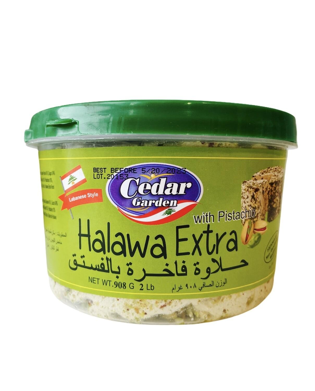 Cedar Garden Pistachio Halawa 12x2lb