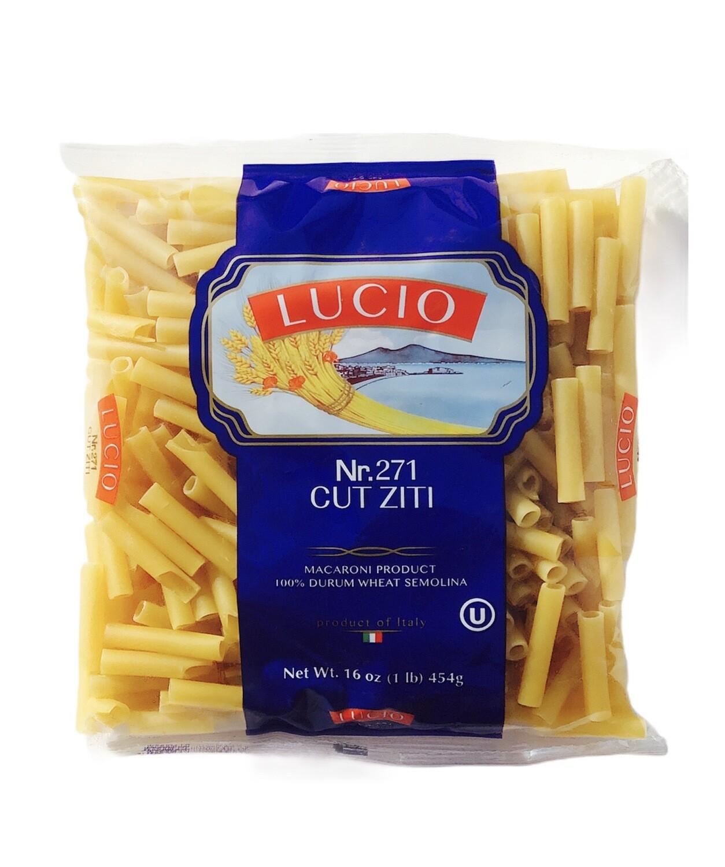 Lucio Cut Ziti Pasta