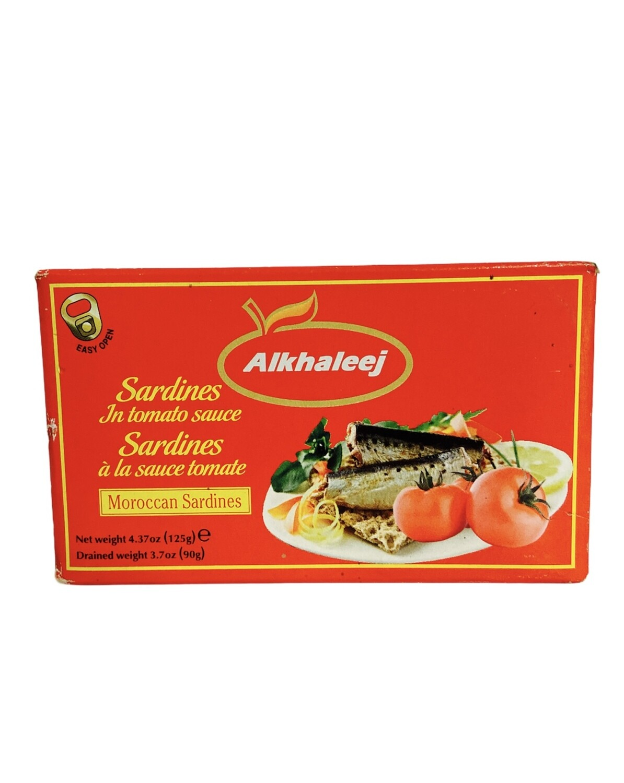 Alkhaleej Sardines In Tomato Sauce 50x125 g
