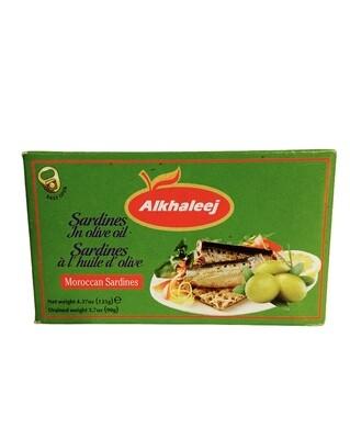 Alkhaleej Sardines In Olive Oil 50x125g