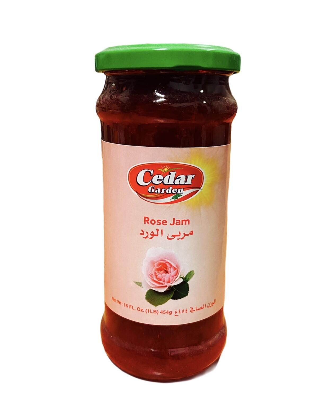 Cedar Garden Rose Jam