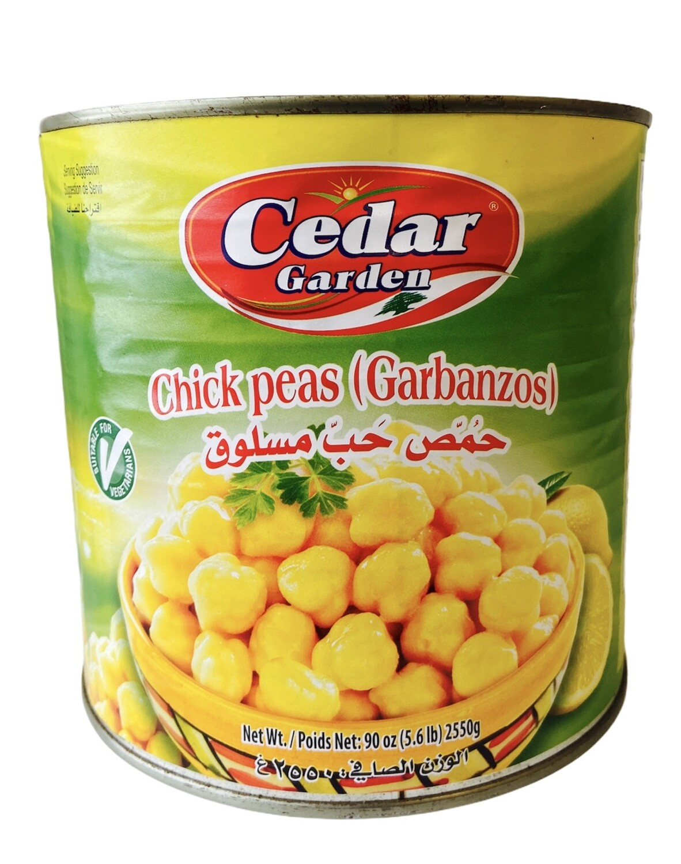 Cedar Garden Chickpeas 6x2550g