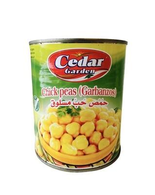 Cedar Garden Chickpeas 12x800g