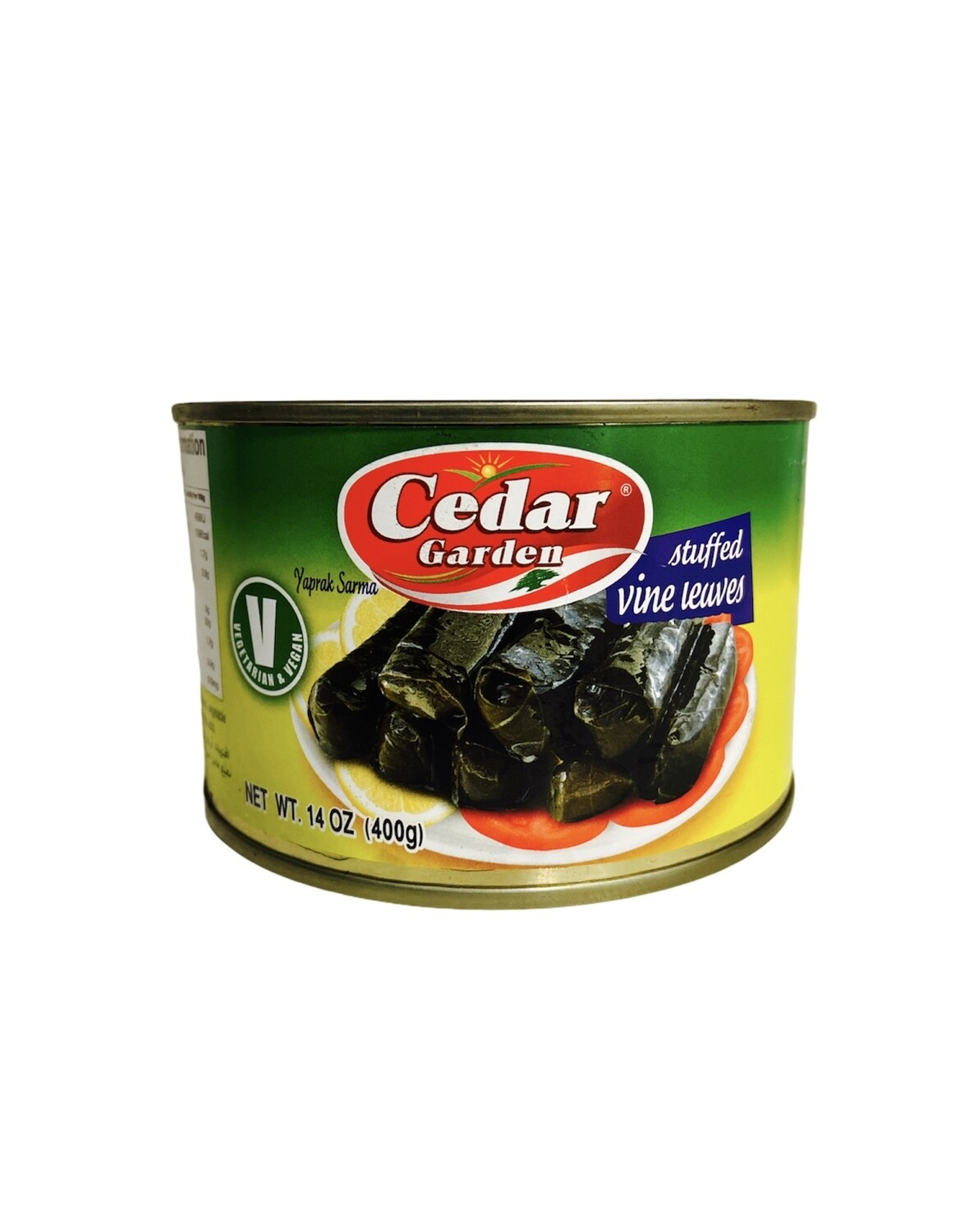 Cedar Garden Stuffed Grape Leaves 24x400g