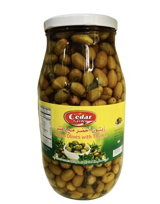 Cedar Garden Green Olive With Thyme 4x3200g