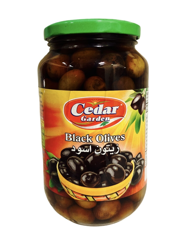 Cedar Garden Black Olives 12x900g
