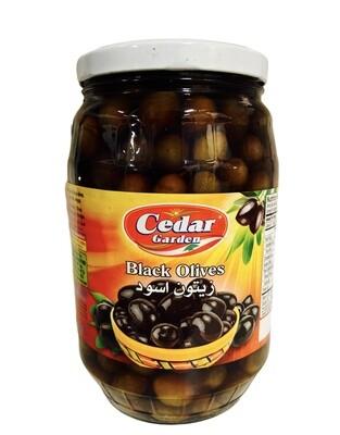 Cedar Garden Black Olives 6x1700g
