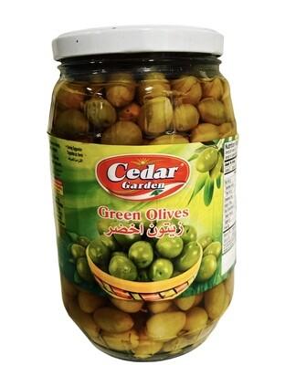 Cedar Garden Green Olives 6x1700g