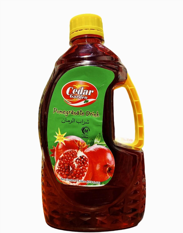 Cedar Garden Pomegranate Juice 6x2L