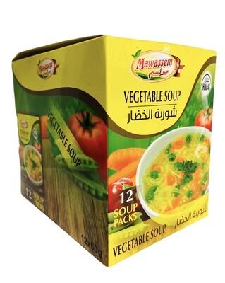 Mawassem Halal Vegetable Soup 12x12x85g
