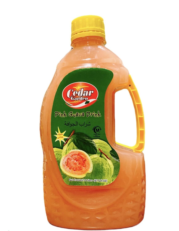 Cedar Garden Pink Guava Juice 6x2L