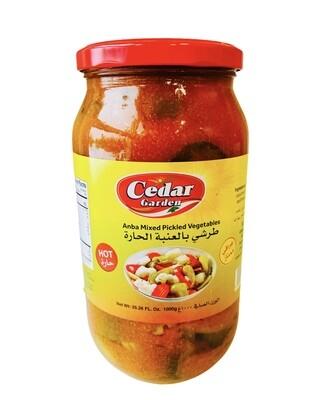 Cedar Garden Spicy Anba Mixed Pickled Vegetables 12x2lb