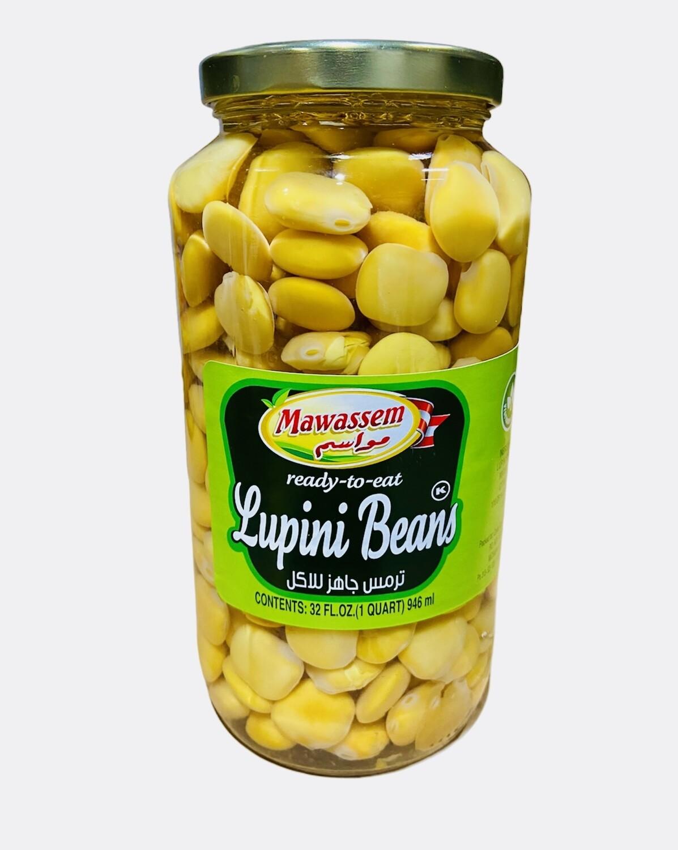 "Mawassem Lupini Beans ""Ready To Eat"" 12x2lb"
