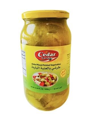 Cedar Garden Anba Mixed Pickled Vegetables 12x2lb