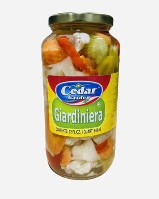 Cedar Garden Giardiniera 12x32oz