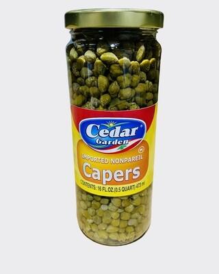 Cedar Garden Capers 12x16oz