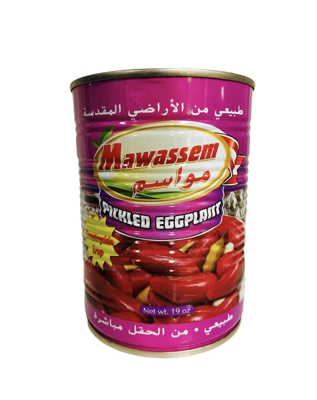 Mawassem Pickled Eggplant 24x