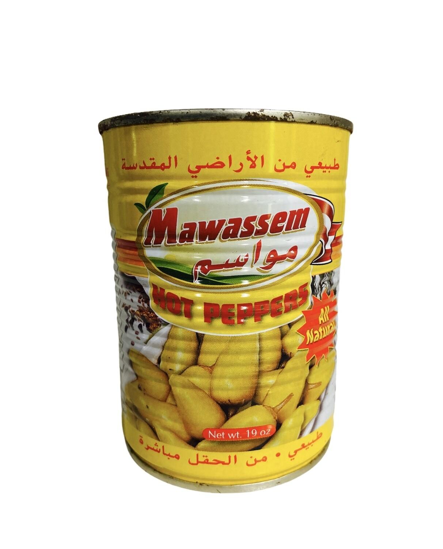 Mawassem Hot Peppers 24x