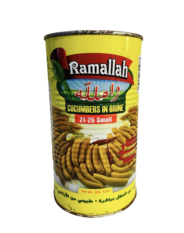 Ramallah Pickled Cucumber Count 21/25 12x2lb
