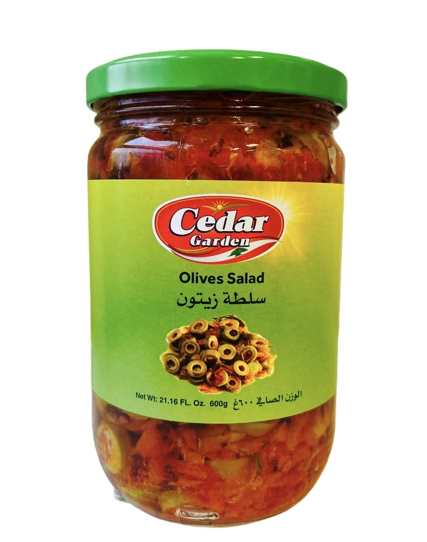Cedar Garden Olive Salad 12x600g