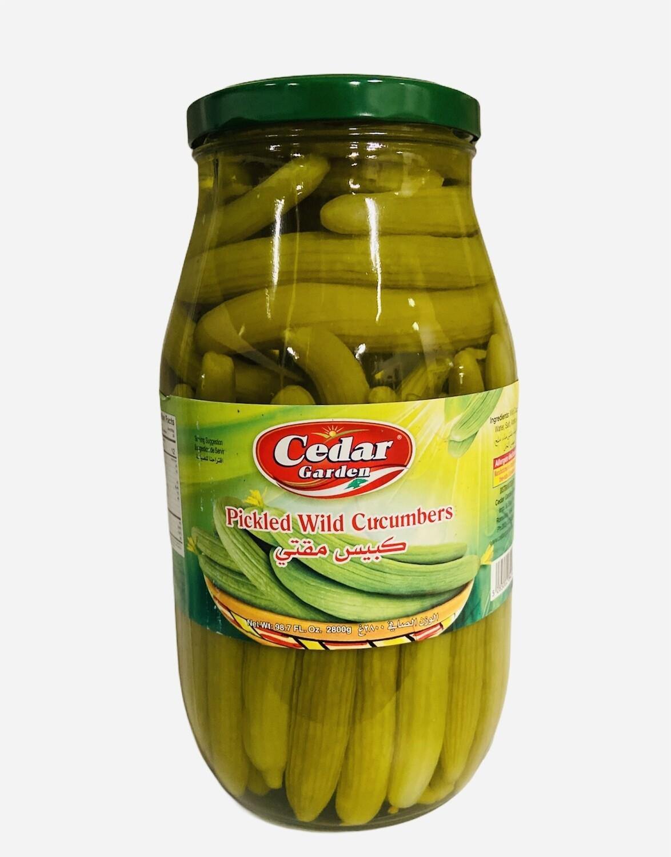 Cedar Garden Pickled Wild Cucumber 4x3k