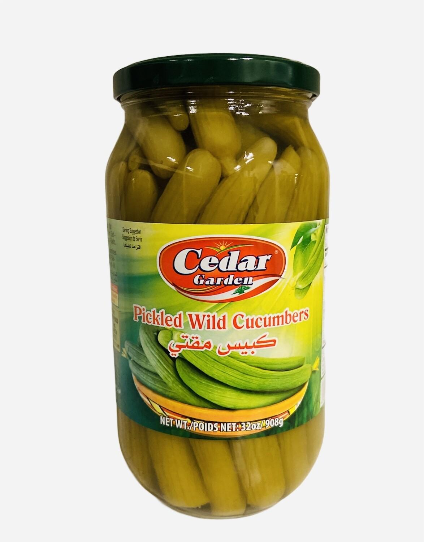 Cedar Garden Pickled Wild Cucumber 12x1k