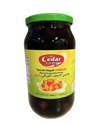 Tourshi Najafi Vinegar Mix Vegetable Pickle 12x1k