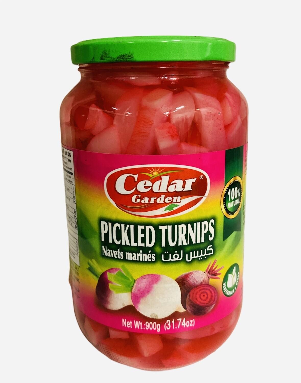 Cedar Garden Pickled Turnip 12x1k