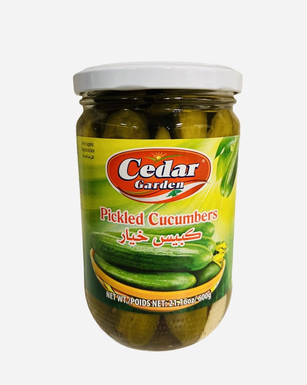 Cedar Garden Pickled Cucumber 12x600g