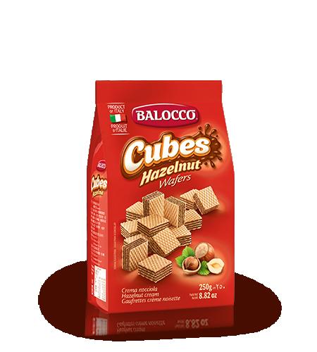 Balocco Hazelnut Cubes