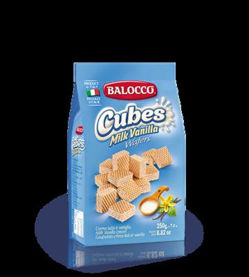Balocco Milk & Vanilla Cubes
