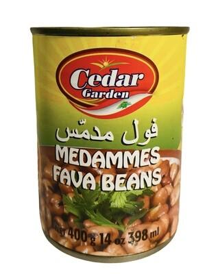 Cedar Garden Medammes Fava Beans 24x400g