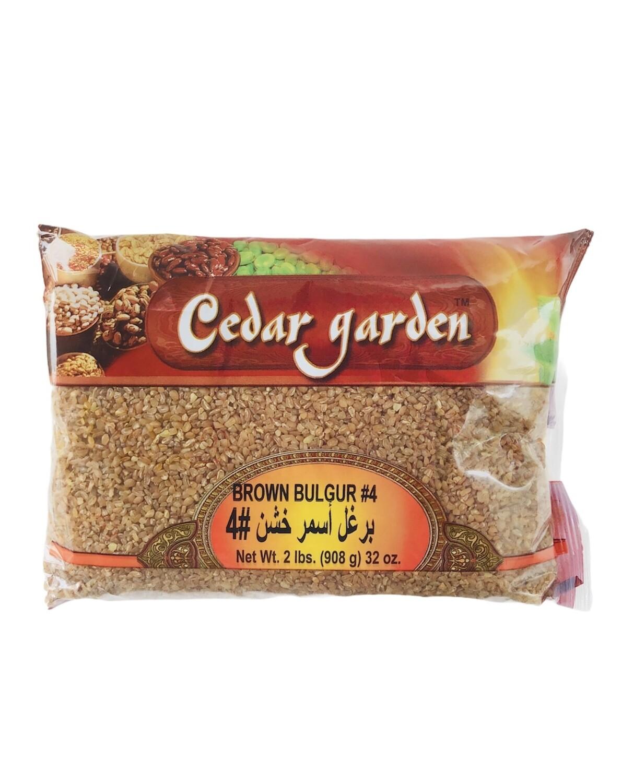 Cedar Garden Dark Bulgur #4 12x2lb