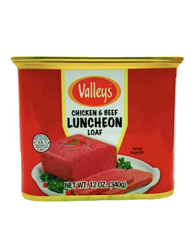 Valleys Luncheon Chicken & Beef