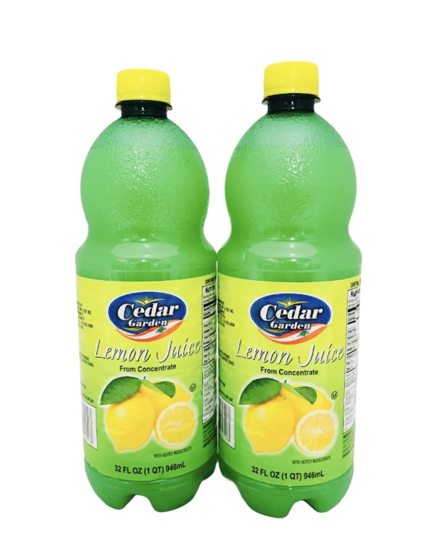 Cedar Garden Lemon Juice
