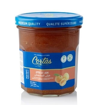 Cortas Apricot Jam In Jar